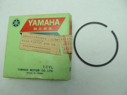 1L8-11611-20 NOS Yamaha Piston Ring 2nd O//S YZ175C W10294