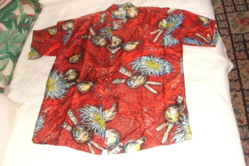COLLECTORS HAWAIIAN SHIRT SILK PARADISE SPORTSWEAR