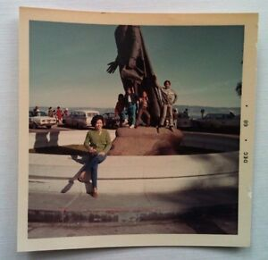 Details About Vintage 60s Photo Cute Asian Woman Kids At Pikes Peak San Francisco California