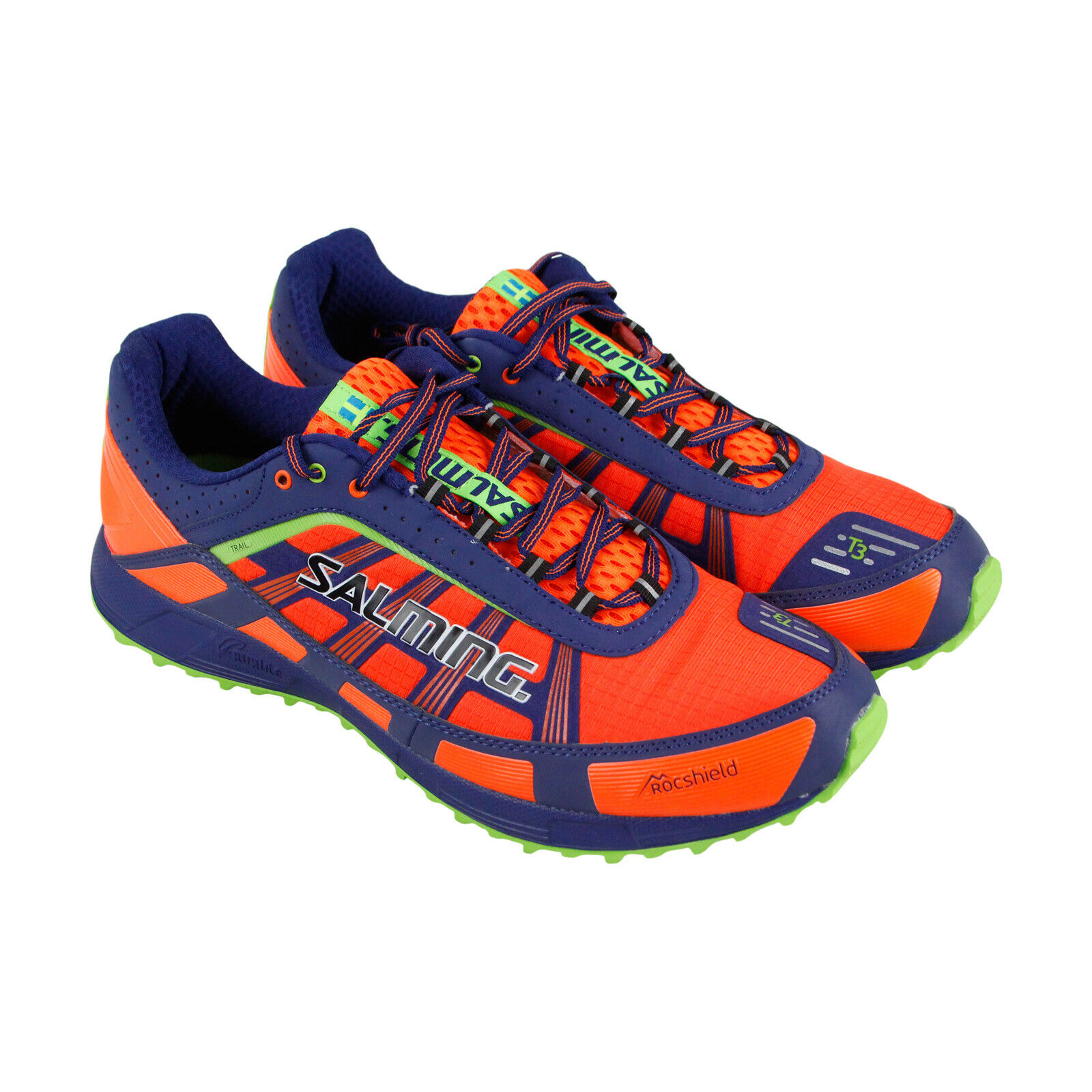 Salming Trail T3 1287034-8833 Mens orange  Low Top Lace Up Athletic Hiking shoes  presenting all the latest high street fashion