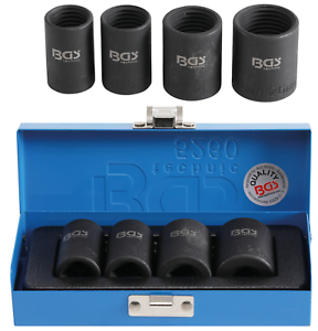 """BGS Spezial-Steckschlüssel-Einsatz-Satz 12,5 mm 1//2/""""/"""" SW 17-26 mm 4-tlg."""
