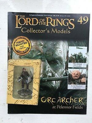 Film, Tv & Videospiele Magazine Kraftvoll Lord Of The Rings Collection Issue 49 Orc Archer Eaglemoss Figure