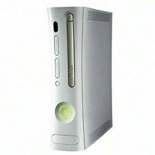 *For Parts* *NOT WORKING* Microsoft Xbox 360 Pro Matte White Game Console ONLY!!