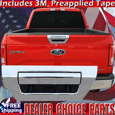 For 2015 15 2016 17 FORD F-150 F150 Chrome Tailgate Tail Gate Cover Trunk Handle