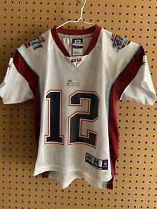 Details about RARE New England Patriots Tom Brady #12 AZ42 Super Bowl XLII Jersey Kids Medium