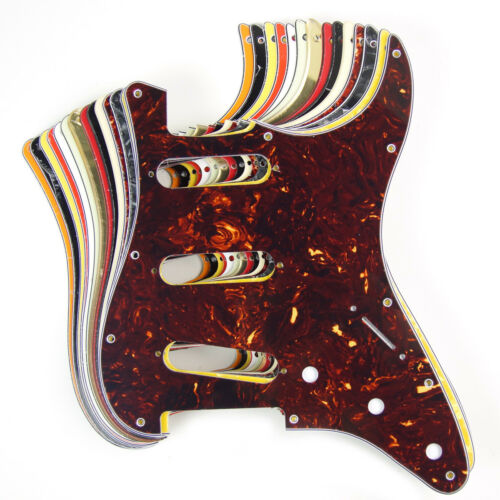 Replacement Guitar Pickguard For Strat Standard SSS With Free Screws NEW