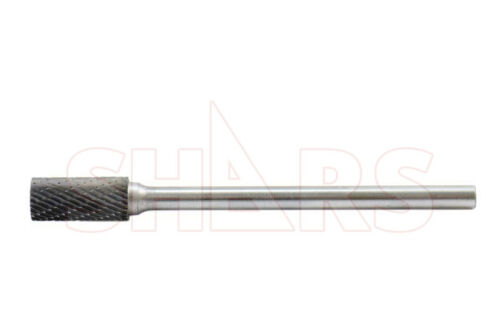 "SHARS 5 Piece 1//4/"" Long Double Cut Shank Carbide Burr Set NEW!"