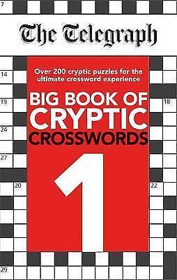 1 of 1 - The Telegraph Big Book of Cryptic Crosswords 1 (The Telegraph Puzzle Books) - Ex
