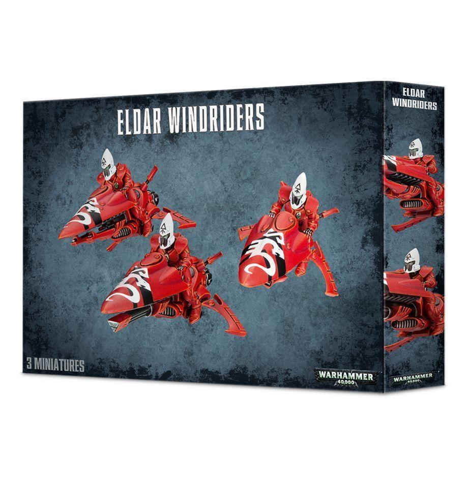Warhammer 40k Eldar craftworlds windriders 46-06 GWS Nuevo En Caja