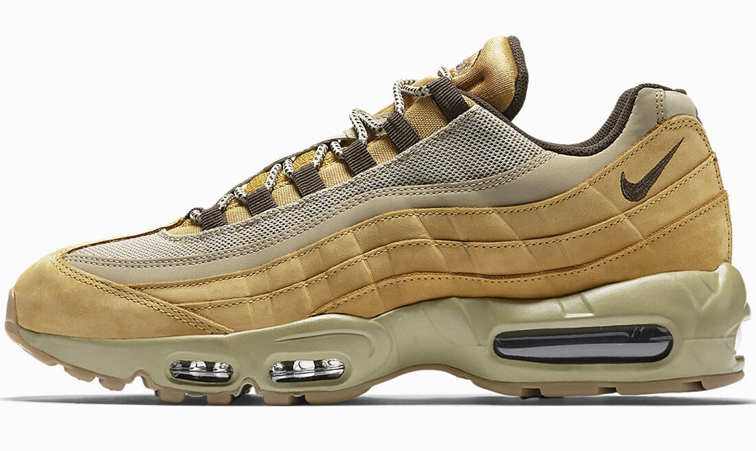 Nike Air Max 95 premium PRM bronce Deluxe wheat Pack og 538416-700 Deluxe bronce 1 90 f26297