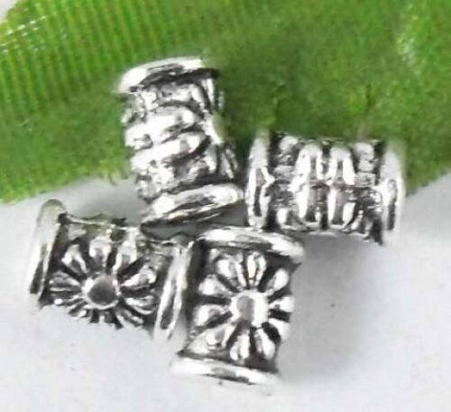 Wholesale 88//167Pcs Tibetan Silver  Spacer Beads 7x5mm Lead-free