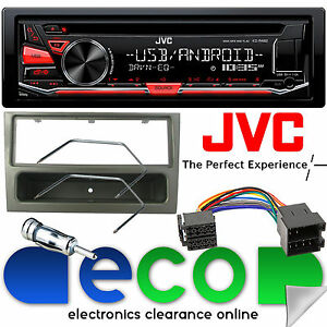 vauxhall meriva a 02 05 jvc cd mp3 usb stereo player grey fascia rh ebay co uk