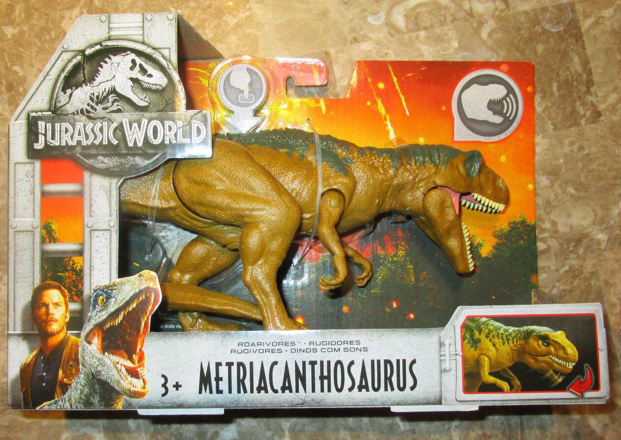 Jurassic World 2 roarivores Metriacanthosaurus figura dinosaurio Sonido ruidosas