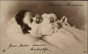 Adel-Monarchie-1915-Prinzessin-Alexandrine-von-Preussen-Postkarte-Cecilienhilfe