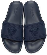 Versace Palazzo Medusa beach sandal   Blue & Red