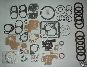 Borg Warner Transmission Parts >> Details About Borg Warner Dg Automatic Transmission Parts Rebuild Kit 1950 1966