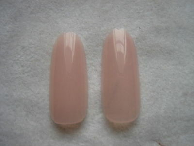 50 x NUDE PINK FULL OVAL HEAD/ ROUND STILETTO WHOLE NAIL