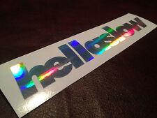 "7"" Hella Slow Neochrome Sticker Vinyl Decal Fatlace illest Stance Drift Camber"