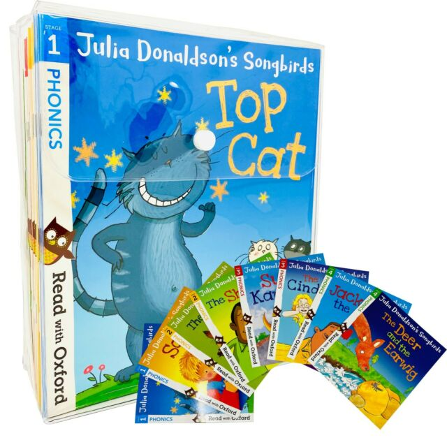 Julia Donaldson's Songbirds Read with Oxford Phonics 36 Books Collection Set NEW