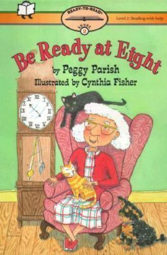 Be Ready At Eight: Ready-To-Read Level 2 (Paper) With Help (Ready-To-Reads) Par