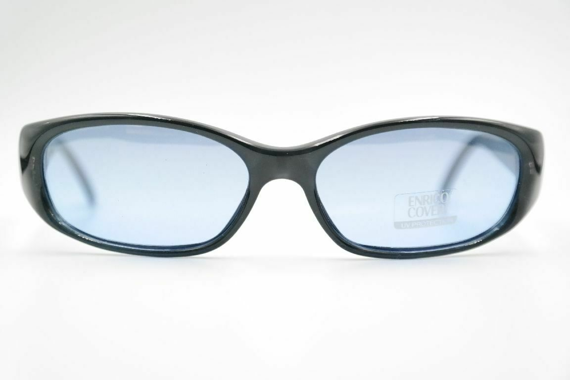Enrico Coveri EC 7085 23G 54 16 Blue Grey Oval Sunglasses New