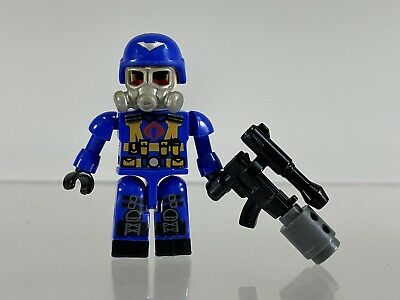 New Lot 10x Gi joe G.I Cobra Trooper Kre-o Mini miniture Figure Toys Xmas gift
