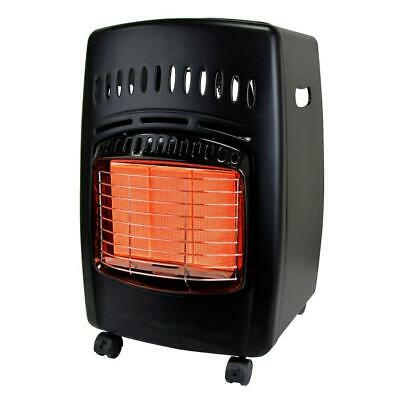 Dyna-Glo Portable Heater 18000 BTU Propane Gas Locking Casters Automatic Shutoff