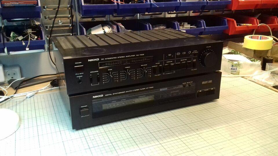 Stereoanlæg , Nikko, NA-700II & NT700II