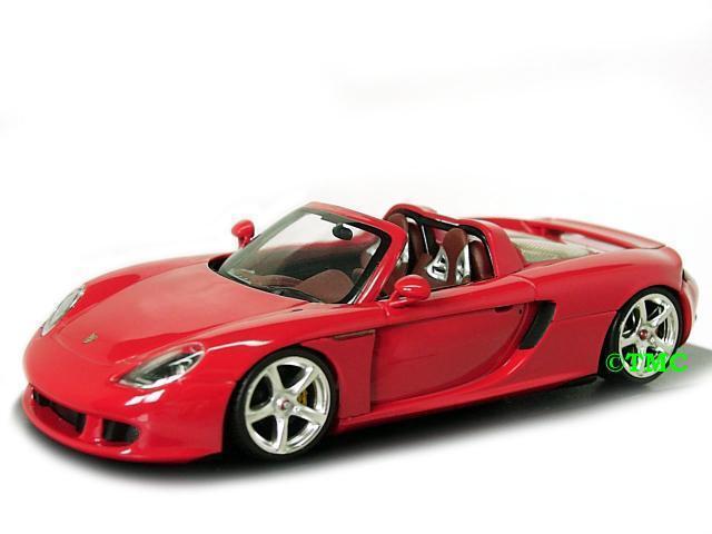 Porsche Carrera GT   2003-2006 2003-2006 2003-2006  indischrot     Minichamps  1 43    Sehr gute Farbe  ad83ef