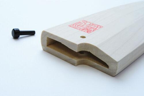 Natural Magnolia wooden Saya Cover for Deba 135mm~180mm YOSHIHIRO