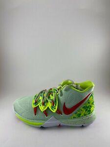 Nike-Kyrie-5-EYBL-Promo-Green-Basketball-Shoes-SZ-6Y-7-5-Women-CQ3566-300