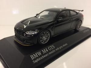 nuevo sádico Minichamps 410025227 BMW M4 GTS 2016 Negro gris Metálico Con Con Con Ruedas  edición limitada