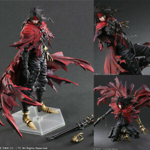 Dirge of Cerberus Final Fantasy VII Vincent Valentine Play Arts Figure No Box