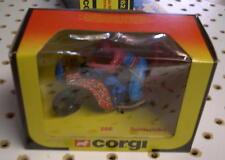 VINTAGE Corgi Toys No. 266 Spiderbike  Mint In A Near Mint Box SPIDERMAN 1983