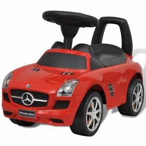 vidaXL-Coche-Correpasillos-de-Ninos-Mercedes-Benz-Rojo-Coche-Infantil-Juguete