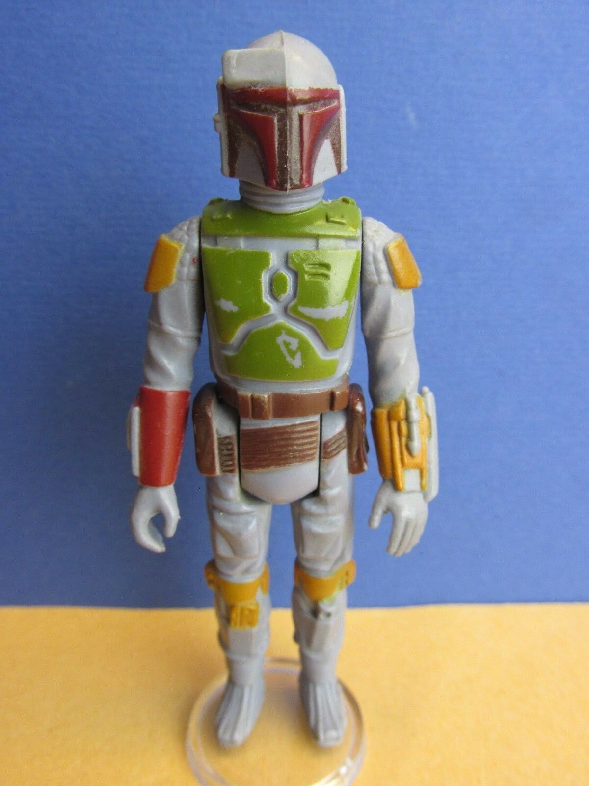 ORIGINAL vintage star wars BOBA FETT ACTION FIGURE kenner bounty hunter HK 80J