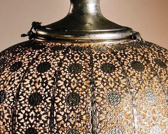 Hänge-Windlicht  Fata Morgana  groß, mit Glaseinsatz, antiker antiker antiker Silberton 21c70f