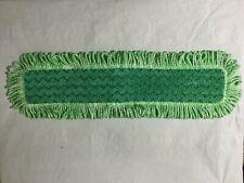 Rubbermaid Q426 Hygen 24 Microfiber Dust Mop With Fringe Green Rcp Q426