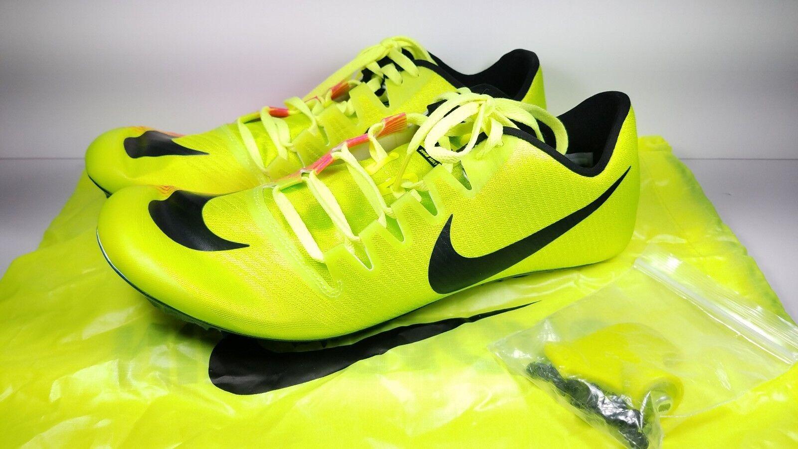 Nike Dimensioni 11,5 Correndo Spuntoni Zoom Ja Volare 3 (Rio 882032-999 Volt 882032-999 (Rio Rosa Nero b714a2