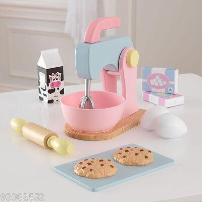 Wooden Pastel Baking set  by Kidkraft --- Pretend Kitchen Play