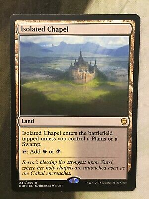 LIGHT PLAY ISOLATED CHAPEL FOIL DOMINARIA FREE SHIPPING