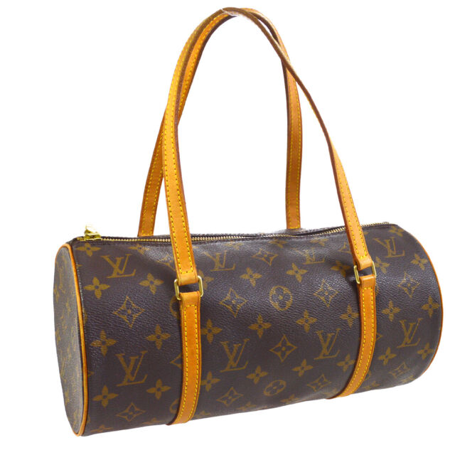 LOUIS VUITTON PAPILLON 30 HAND BAG PURSE MONOGRAM CANVAS M51385 MB0023 00637