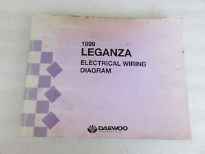 Remarkable 1999 Daewoo Leganza Electrical Wiring Diagram Service Manual Wiring Cloud Hisonuggs Outletorg