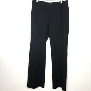 Banana-Republic-Size-4-Black-The-Martin-Fit-Trouser-Pants-Wool-Blend-New