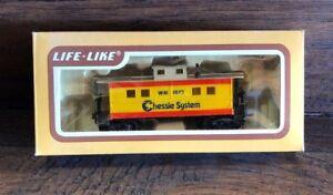 22602e-NOS-Life-Like-84411-CHESSIE-CABOOSE-1872-CAR-Train-Car-HO-Scale