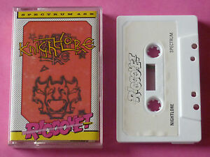 Sinclair-ZX-Spectrum-Ricochet-KNIGHT-LORE-Ultimate-Play-The-Game-1987-NEW