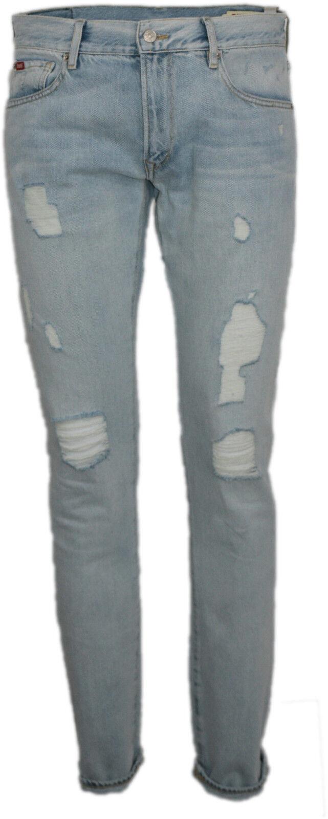 JEANS men RIFLE SLIM FIT 95807 GAMBA DRITTA denim cotone elasticizzato pantalon