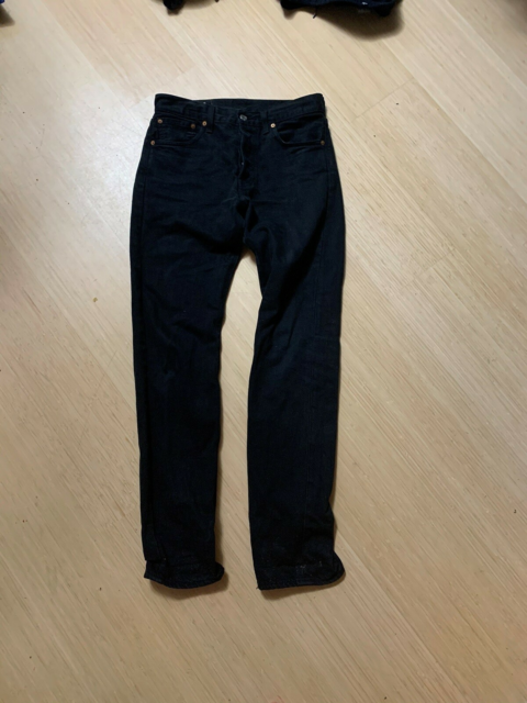 Jeans, Levis, str. 28, Sort, God men brugt, Levis 501 slim…
