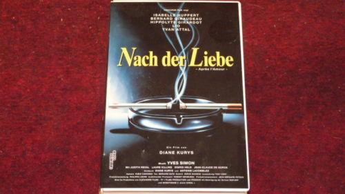 VHS Nach der Liebe (Concorde Video) Deutsch Isabelle Huppert