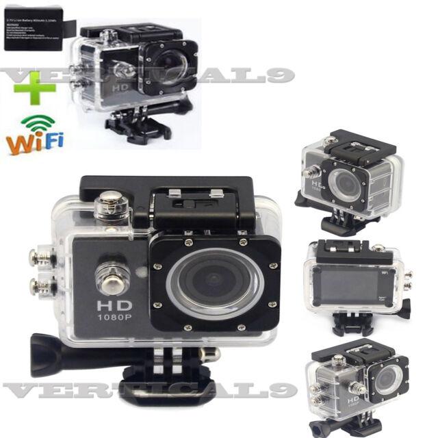 1080P WIFI 12MP Waterproof SJ4000 HD Helmet Sport Action Video Camera Cam DV
